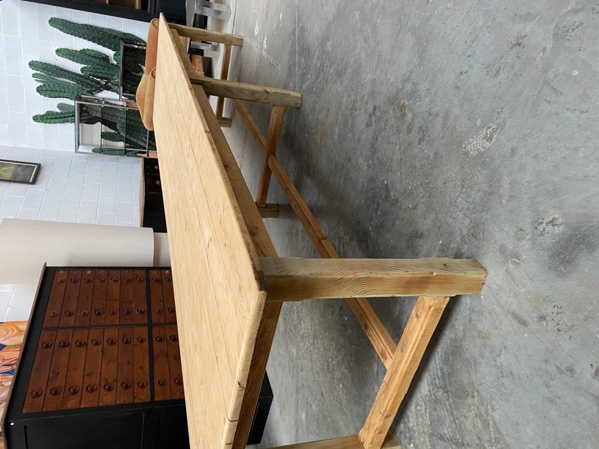 Très grande table de ferme ancienne   Nord Factory