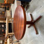 Table Baumann ronde à rallonges