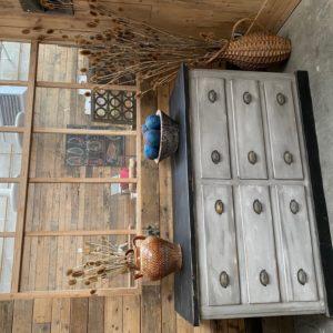 Ancien meuble 6 tiroirs