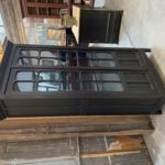 Meuble vitrine fin XIXème