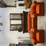 Salon Chesterfield en cuir