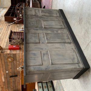 Comptoir bar patine grise