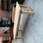 Grande table de ferme en chêne