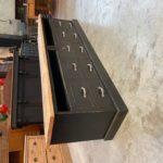 Meuble de métier transformé en meuble TV