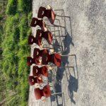 Suite de 10 chaises enfants «Tubax»