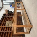 Grande table de drapier ancienne