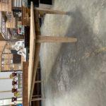 Très grande table de ferme en chêne