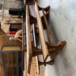 Ensemble table de ferme et ses 2 bancs