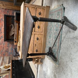 Table de bistrot début XXème