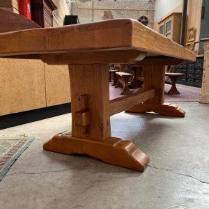Table de ferme en chêne