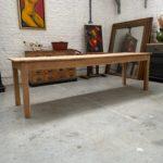 Grande table de ferme ancienne