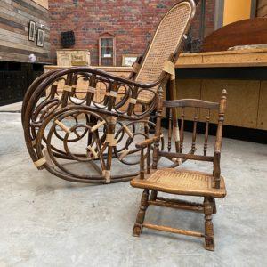 Petit fauteuil d'enfant XXème