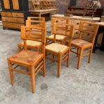 Suite de 6 chaises Pierre Cruège