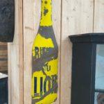Plaque émaillée «Bières du Lion»