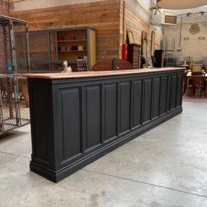 Grand comptoir de bar début XXème