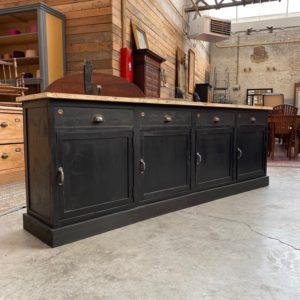 Ancien meuble d'atelier 4 portes